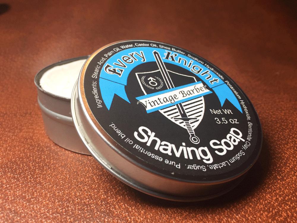 Vintage Barber Soap Tin